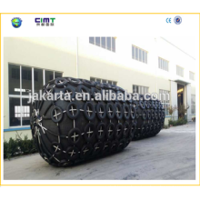 2015 Year China Top Brand Cylindrical Tug boat marine rubber fender with Galvanized Chain made in china